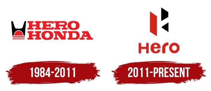 Hero Logo History