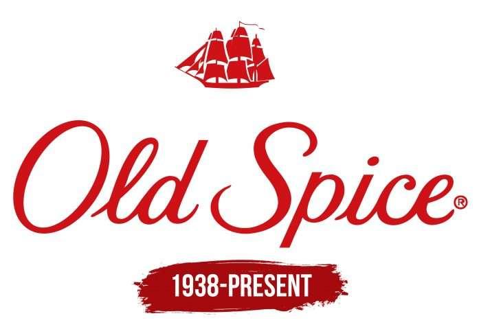 Old Spice Logo History