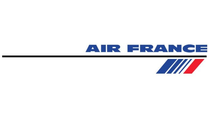 Air France Logo 1990-1998