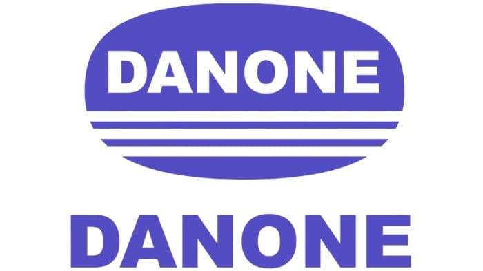 Danone Logo 1968-1992