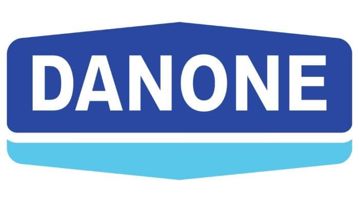 Danone Logo 1972-1994