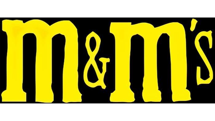 M&M's Logo 1954-1971