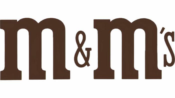 M&M's Logo 1971-1988