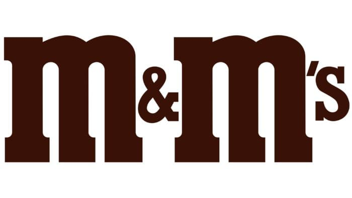 M&M's Logo 1988-2001