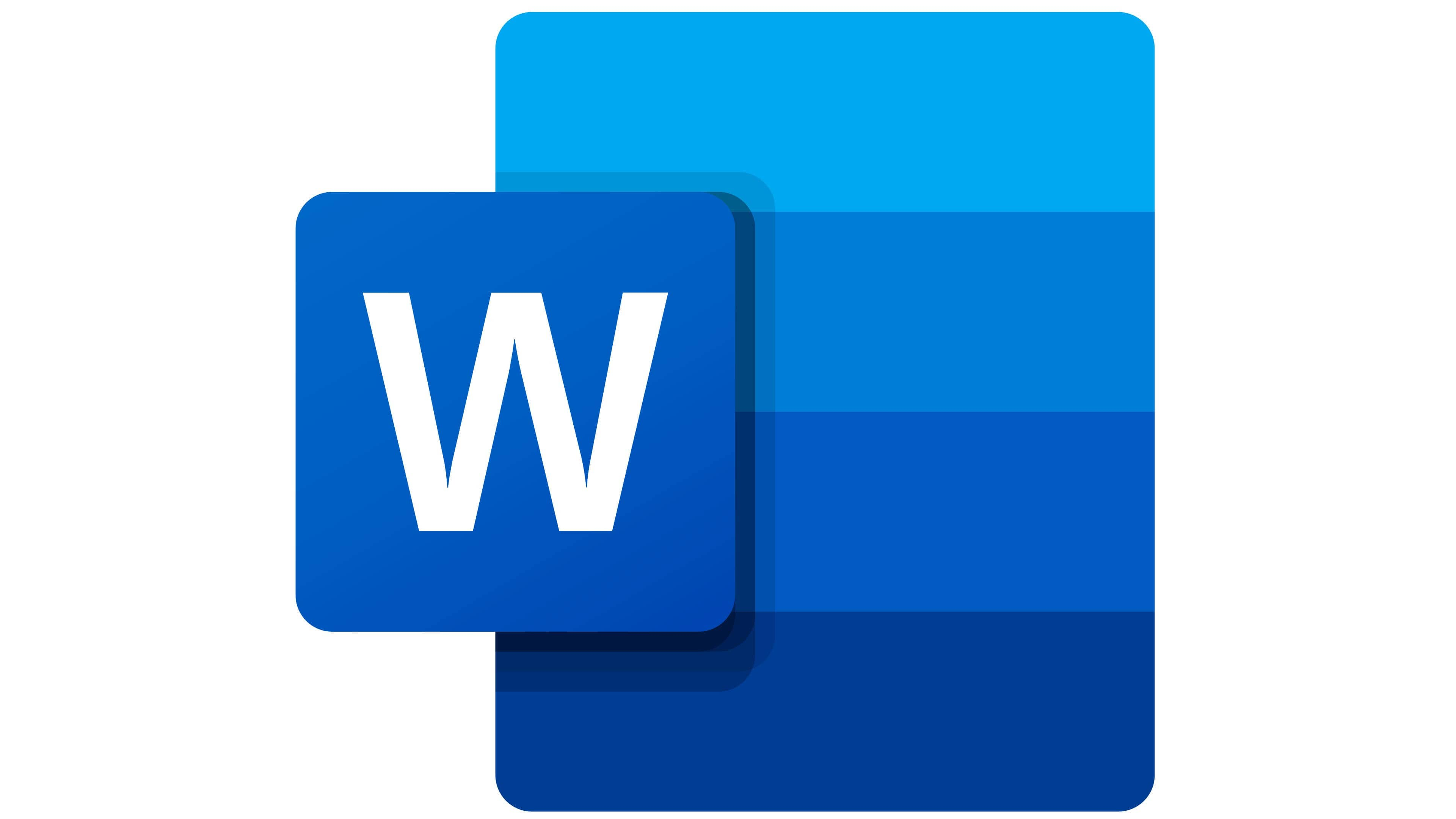 Microsoft Word Logo The Most Famous Brands And Company Logos In The World