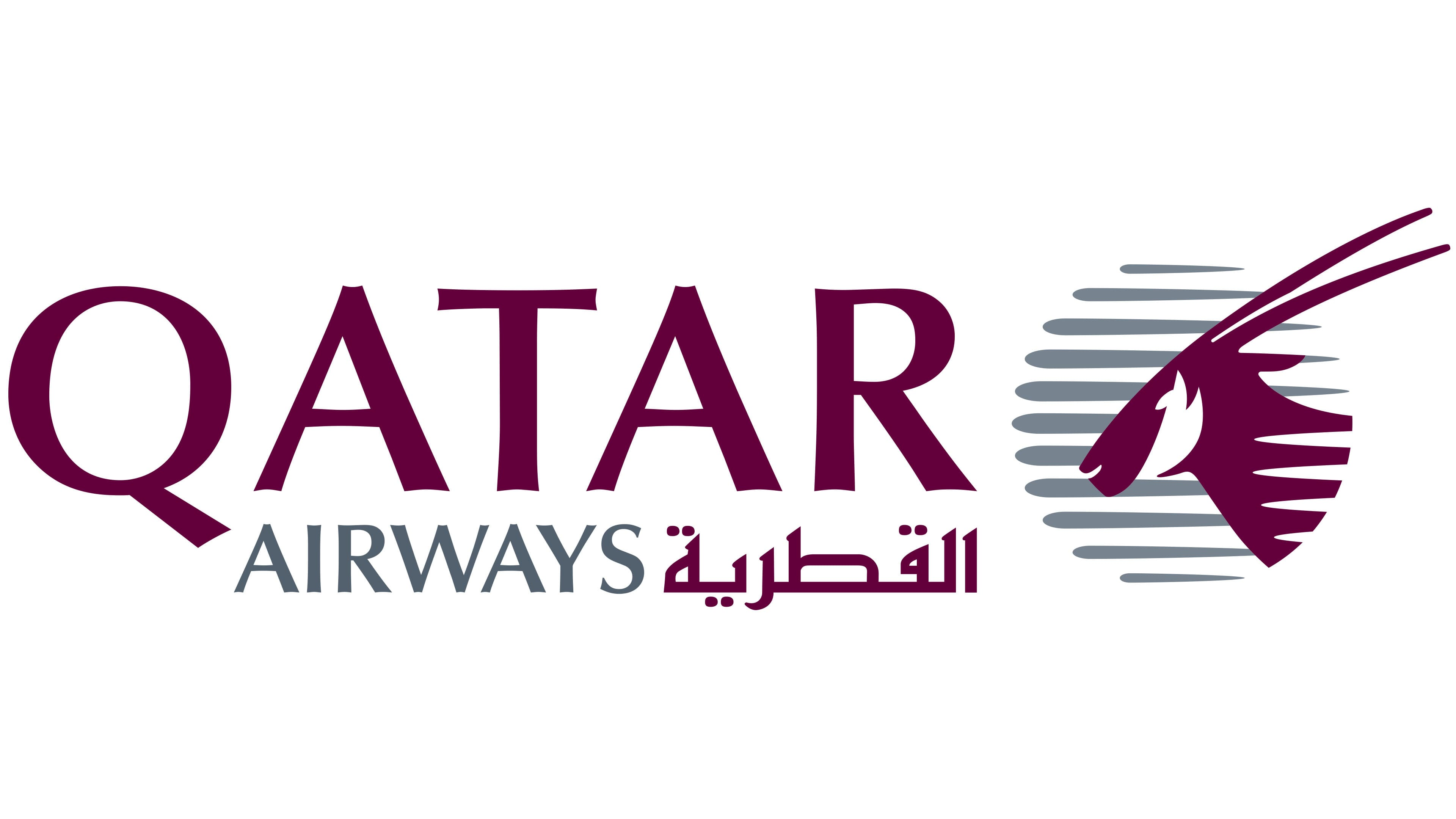 Qatar Airways Logo | The most famous brands and company logos in the world