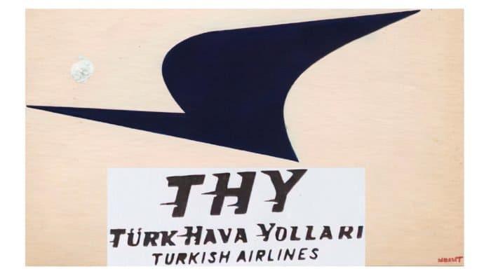 Turkish Airlines Logo 1956-1964