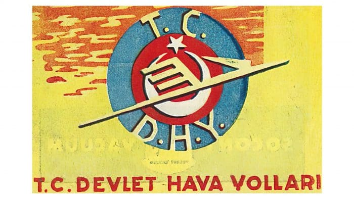 Turkish State Airlines Administration Logo 1933-1956