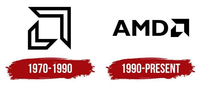 AMD Logo History