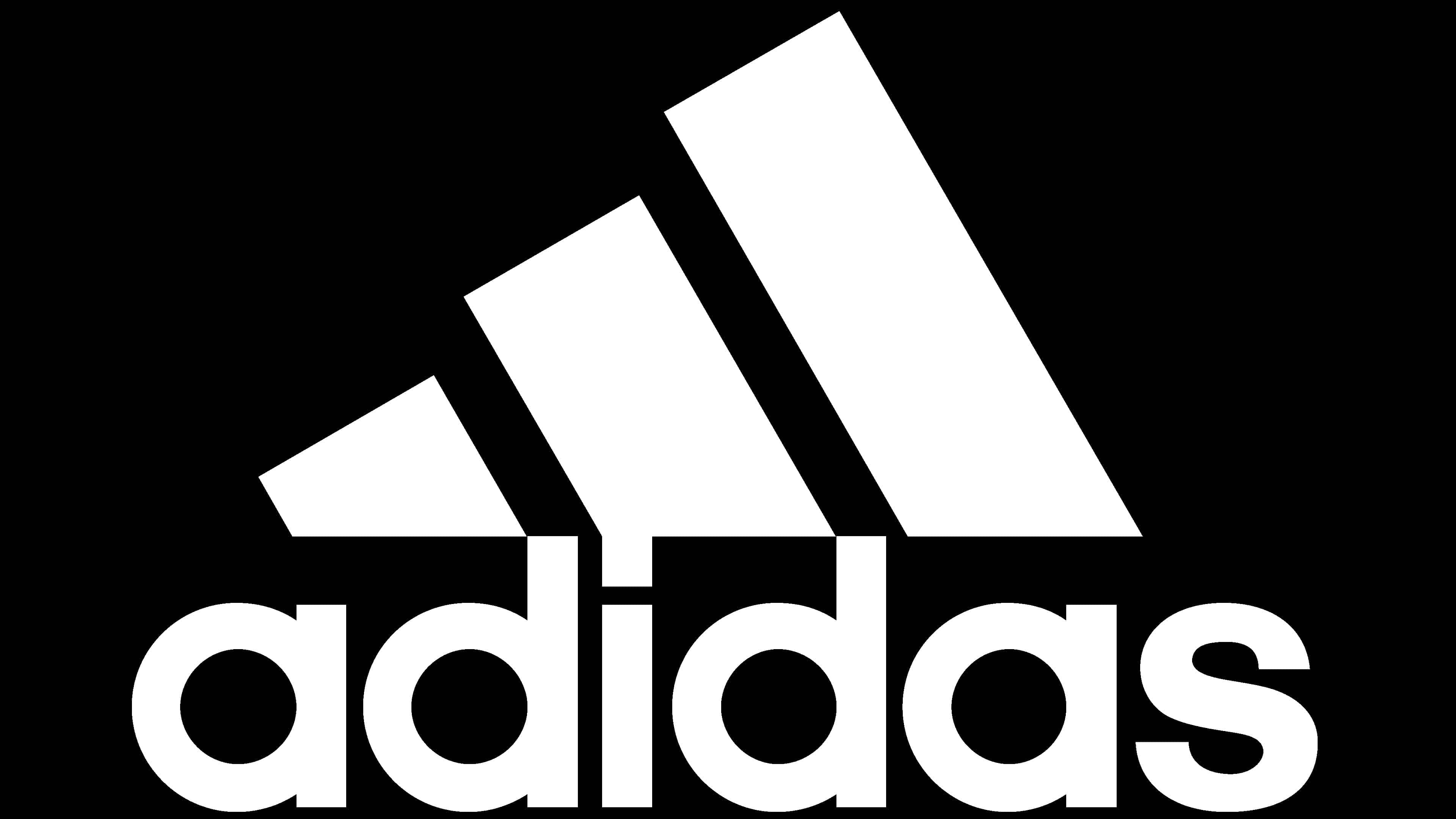 función negar demasiado  Adidas Logo History   The most famous brands and company logos in the world