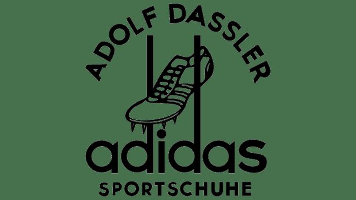 Adidas Logo 1949-1950