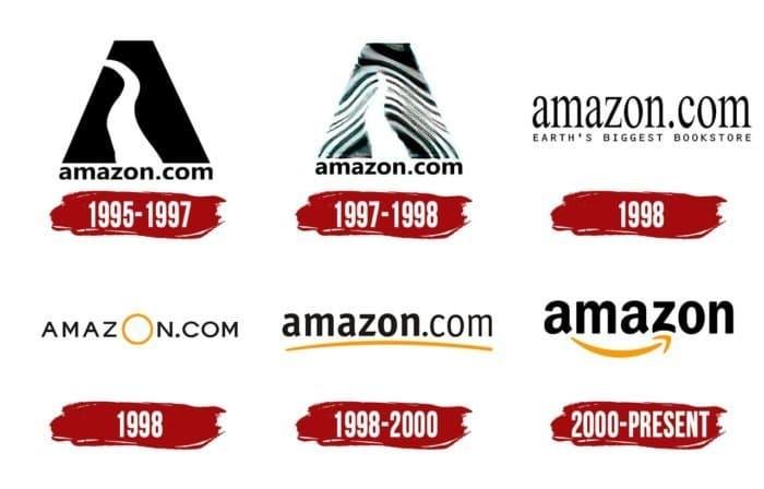Amazon Logo History
