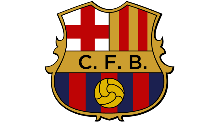 Barcelona logo 1941-1949
