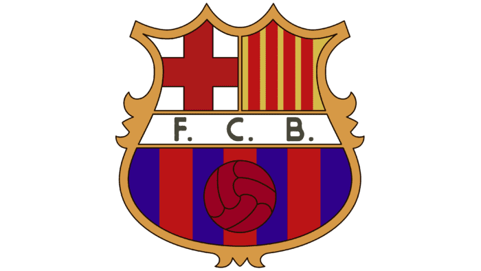 Barcelona logo 1974-1975
