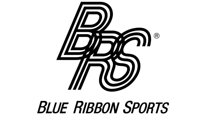 Blue Ribbon Sports Logo 1964-1971