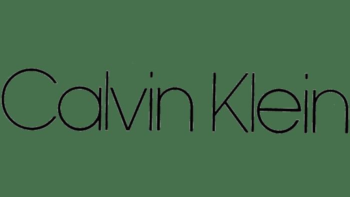 Calvin Klein Logo 1968-1975