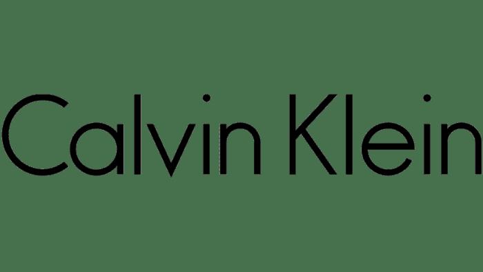 Calvin Klein Logo 1992-2017
