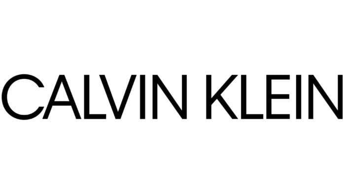 Calvin Klein Logo 2017-present