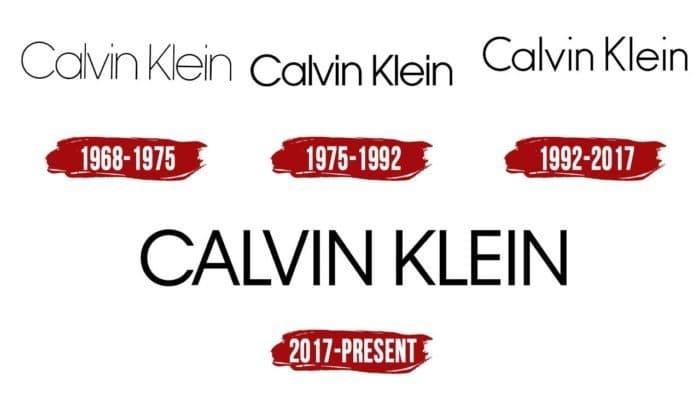 Calvin Klein Logo History