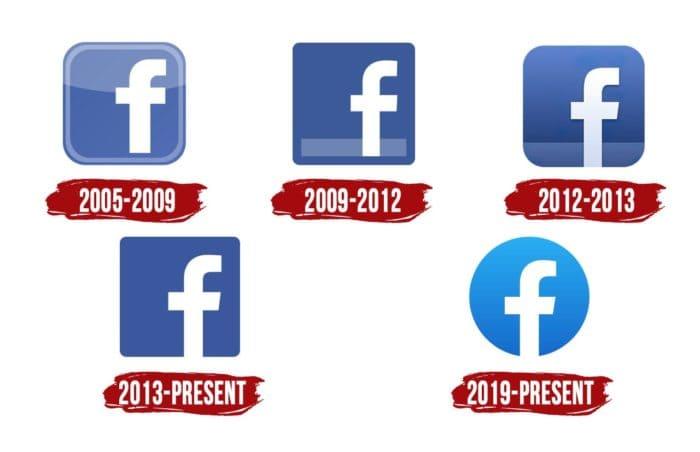 Facebook Icon History