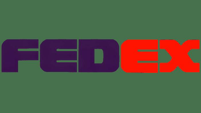 FedEx Logo 1991-1994