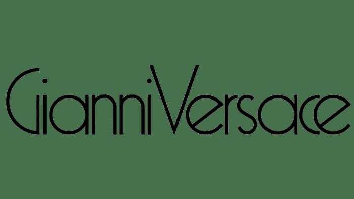 Gianni Versace Logo 1980-1990