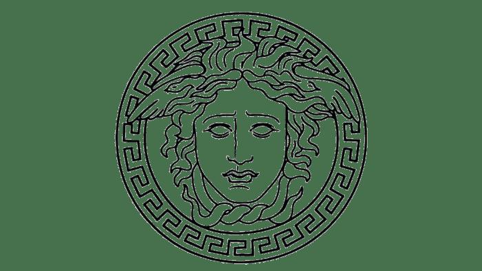 Gianni Versace Logo 1993-1997