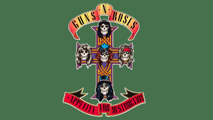 Guns N' Roses Logo 1987