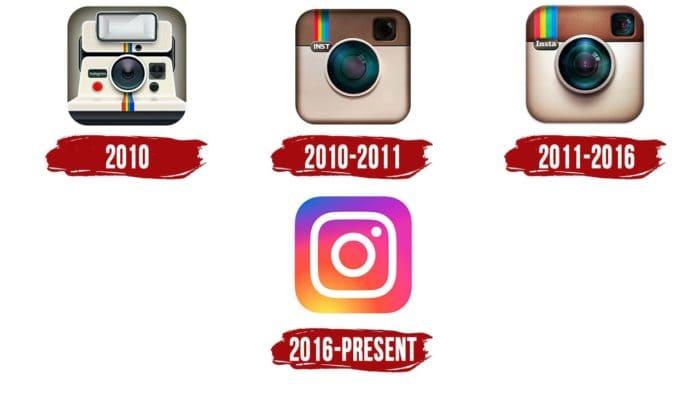 Instagram Logo Icon History