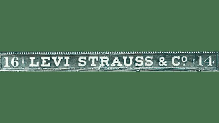 Levi's Logo 1853-1892