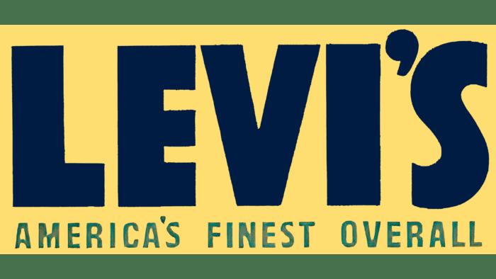 Levi's Logo 1943-1949