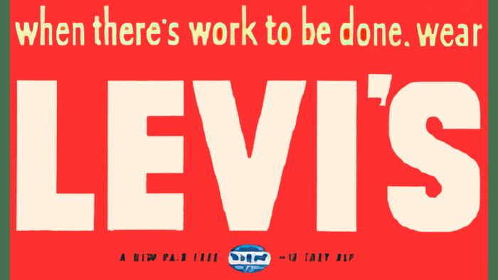 Levi's Logo 1949-1954