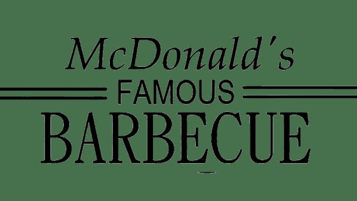 McDonald's Famous Barbecue Logo 1940-1948