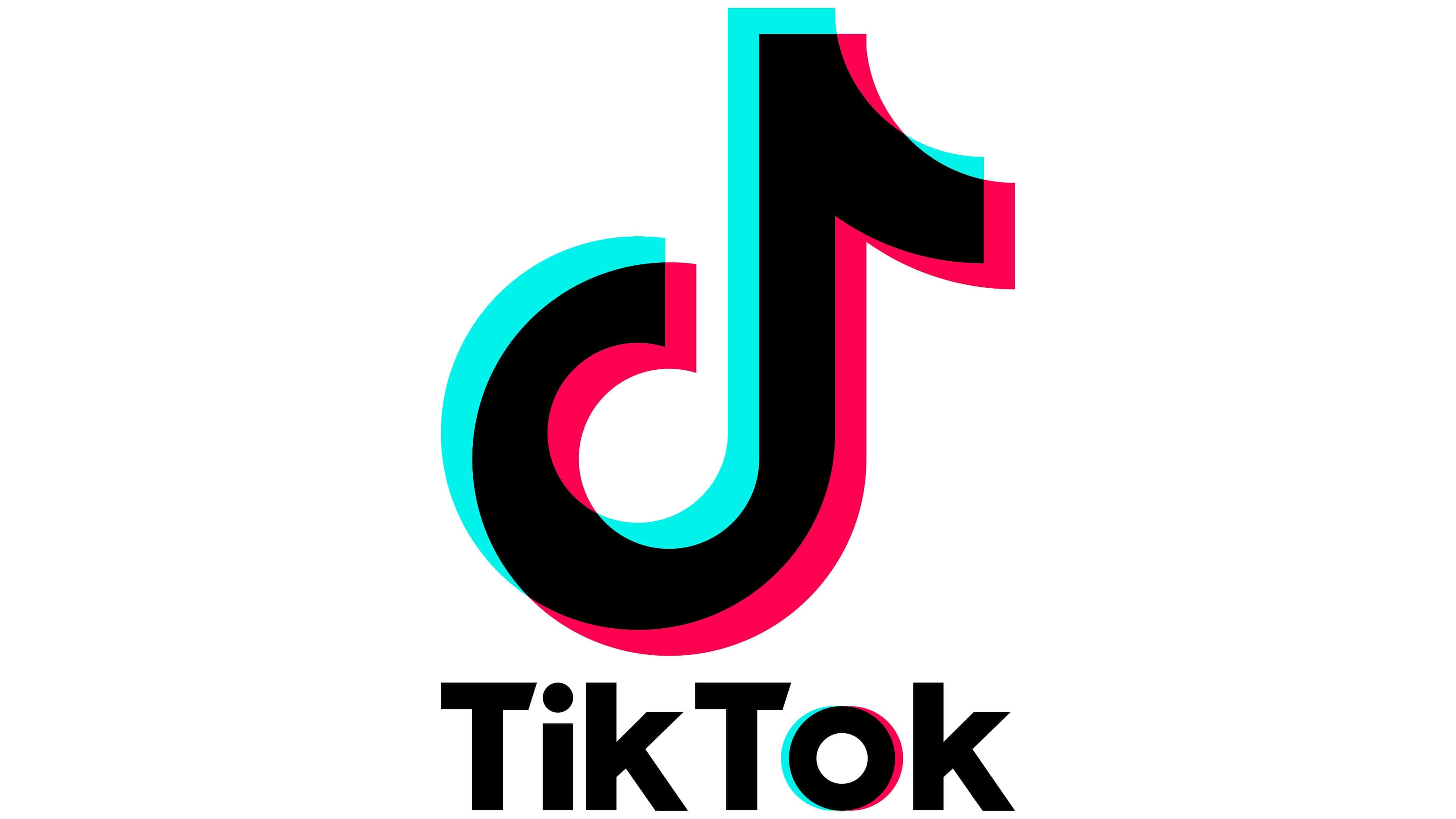 TikTok Logo   Symbol, History, PNG (3840*2160)