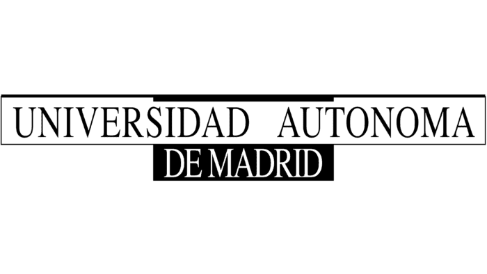 Universidad Autonoma de Madrid logo 1968