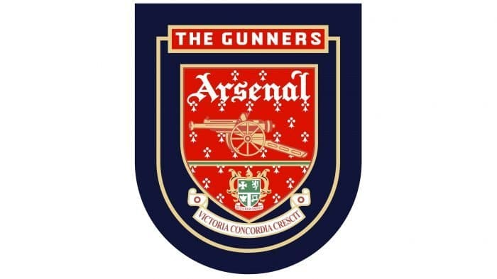 Arsenal Logo 1994-1996