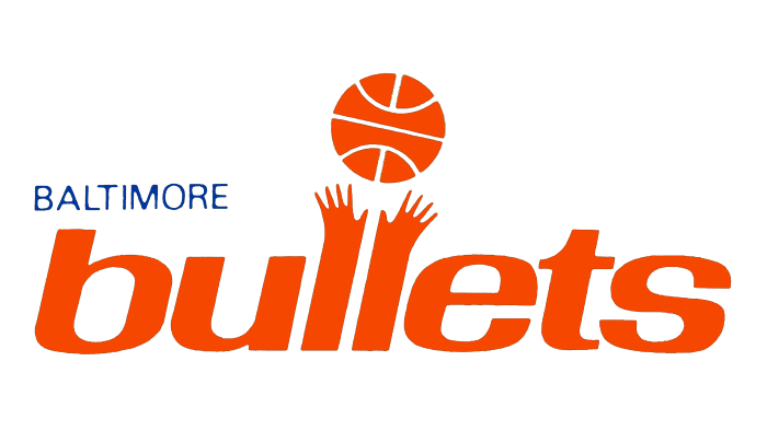 Baltimore Bullets Logo 1968-1969