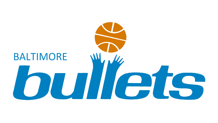 Baltimore Bullets Logo 1972-1973