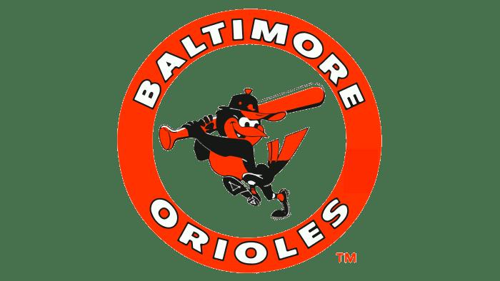 Baltimore Orioles Logo 1989-1991