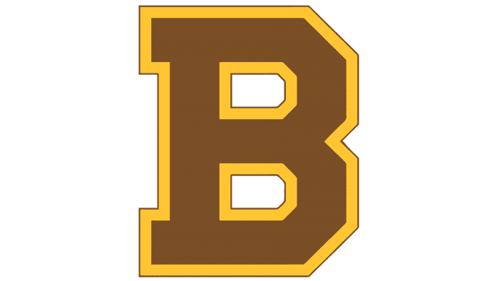 Boston Bruins Logo 1932-1934