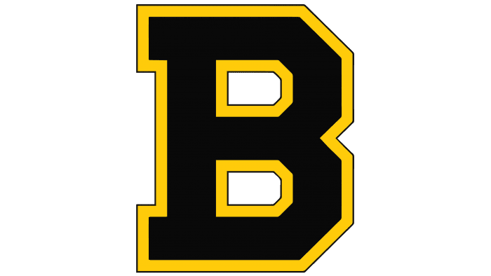 Boston Bruins Logo 1934-1949