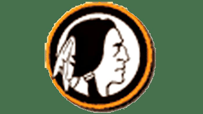 Boston Redskins Logo 1933-1936