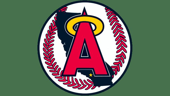 California Angels Logo 1986-1992