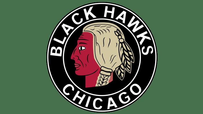 Chicago Blackhawks Logo 1935-1937