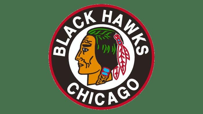 Chicago Blackhawks Logo 1941-1955
