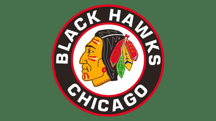 Chicago Blackhawks Logo 1955-1957