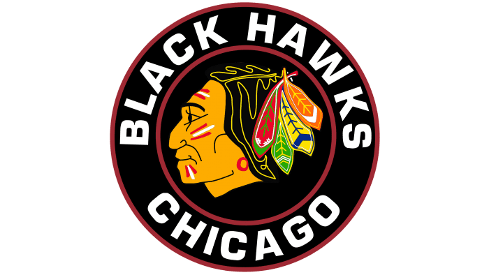 Chicago Blackhawks Logo 1957-1965