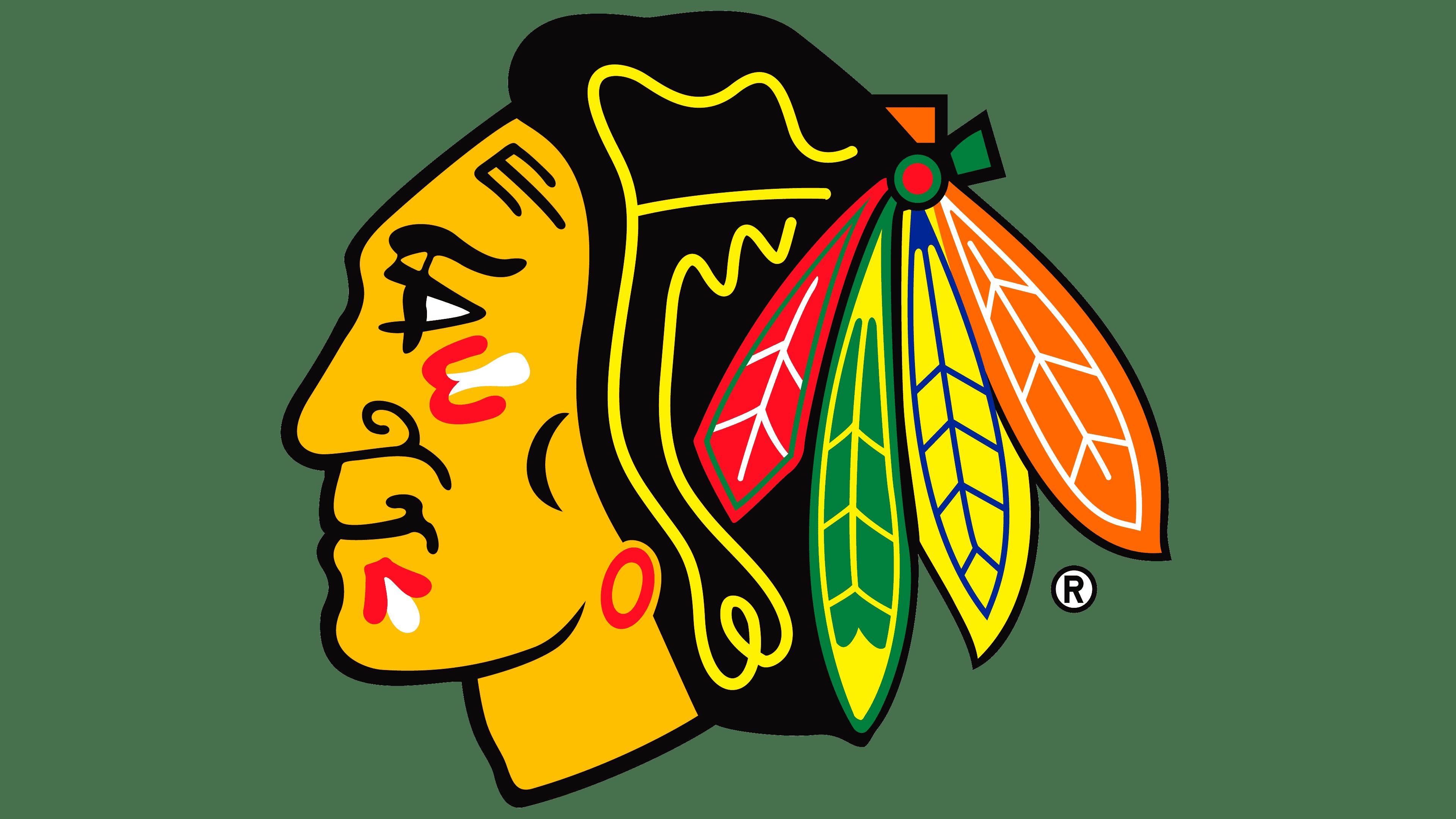 Clipart Blackhawks Feathers