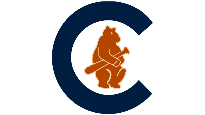Chicago Cubs logo 1908-1910