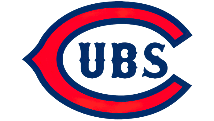 Chicago Cubs logo 1919-1926